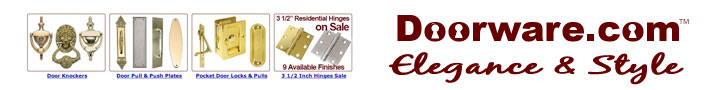 Doorware.com - Finest Door Hardware for your Home